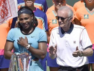 Image: BNP Paribas Open tennis tournament