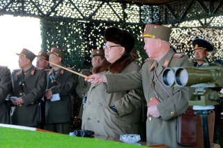 Image: NNorth Korean leader Kim Jong Un