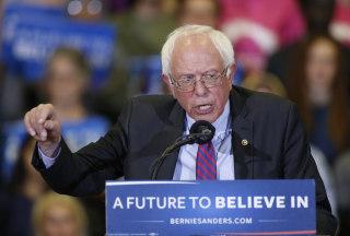 Image: Bernie Sanders Campaigns In Salt Lake City One Day Before Utah Primary