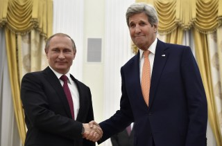 Image: US Secretary of State John Kerry in Moscow