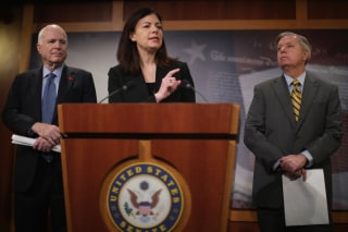 Image: GOP Senators Hold News Conference On Guantanamo Detention Facility