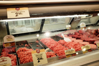 Image: Meat at grocery store