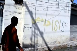 Image: ISIS graffiti in Quetta, Pakistan.