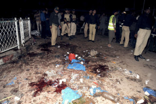 Image: PAKISTAN-UNREST-BLAST