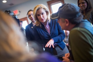 Image: Heidi Cruz And Carly Fiorina Campaign For Ted Cruz In Wisconsin
