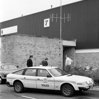 Image: Brink's-MAT security warehouse