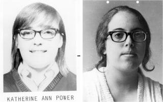 IMAGE: Katherine Ann Power and Susan Edith Saxe
