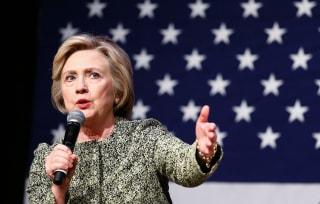 Image: US-VOTE-DEMOCRAT-CLINTON