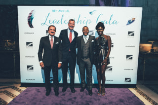CUP Gala 2016 Honorees with Mayor de Blasio