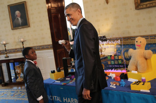 Image: President Obama Attends White House Science Fair