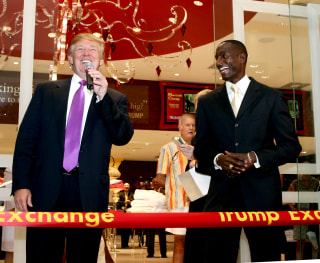 Ribbon Cutting for The Trump Exchange at the Taj Mahal in Atlantic City