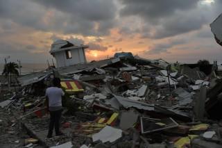 Image: TOPSHOT-ECUADOR-QUAKE