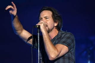 IMAGE: Eddie Vedder and Pearl Jam
