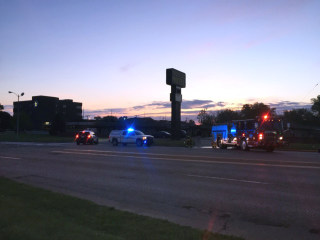 Image: Topeka Country Club Motel shooting, fire
