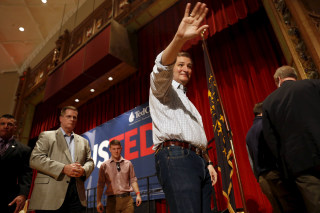 Image: Ted Cruz in Terre Haute, Indiana