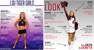 IMAGE: College cheerleading posters