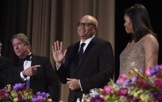 Major Garrett, Michelle Obama, Larry Wilmore