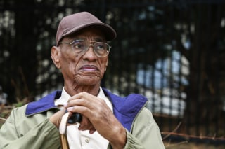 Image: Paul Gatling, who spent nine years in prison for a 1963 murder in which he was wrongly convicted, at his home in Hampton.