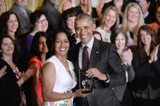 Image: President Obama Honors the Teachers of the Year