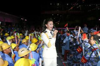 Chinese folk singer Song Zuying