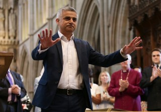 Image: BRITAIN-POLITICS-LONDON-MAYOR