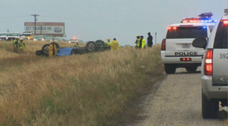 Image: Accident scene in Dripping Springs, Texas