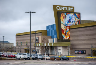 Image: Century Aurora 16 movie theater is pictured in Colorado