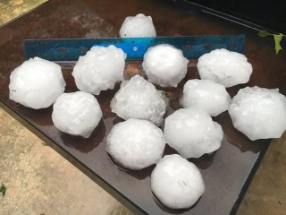 IMAGE: St. Louis hail