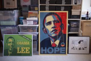 Image: Obama memorabilia collection