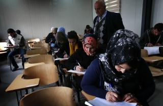 Image: Iraqi students