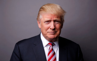 Image: Republican U.S. presidential candidate Donald Trump poses for a photo after an interview with Reuters in his office in Trump Tower, in the Manhattan borough of New York City