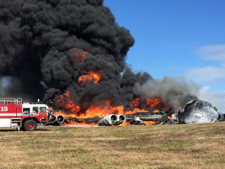 IMAGE: B52 crash on Guam