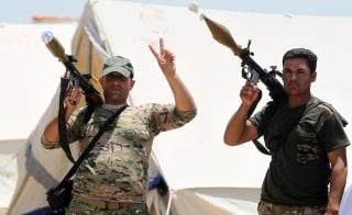 Image: Fallujah conflict