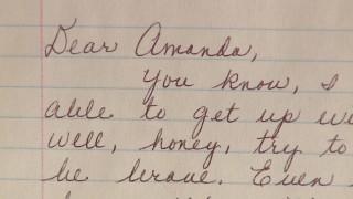 IMAGE: Amanda Lemmond letter