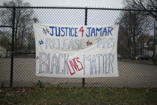 Black Lives Matter Activists Group Continues To Protest Police Shooting Of Jamar Clark