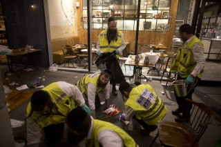 Image: Four Killed In Tel Aviv Shopping Centre Attack