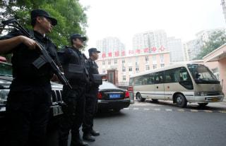 Image: SWAT team members in China