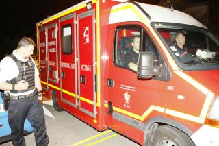 Image: French police killing scene