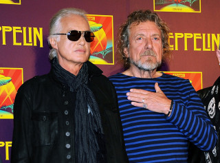 Image: Jimmy Page, Robert Plant