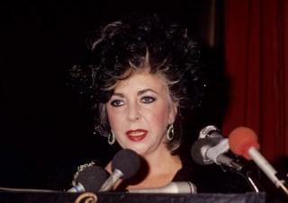 Arizona AIDS Foundation Trust Auction Honors Elizabeth Taylor - Febuary 10, 1986