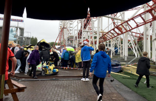 IMAGE: Scottish roller coaster accident