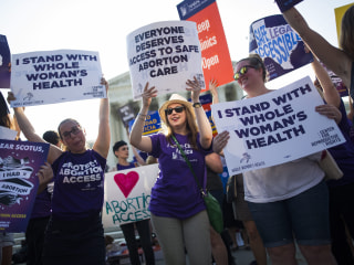 Image: Supreme Court weighs abortion decision