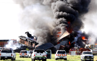 IMAGE: Texas train crash