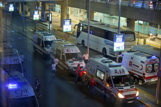 IMAGE: Istanbul airport attack