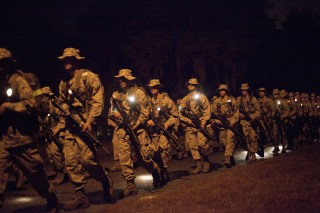 IMAGE: Boot camp at Parris Island, S.C.