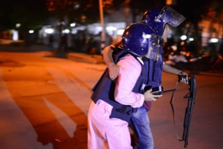 Image: Hostage Situation During Dhaka Attack