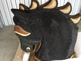 IMAGE: Cocaine horse sculpture