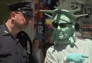 IMAGE: New York security