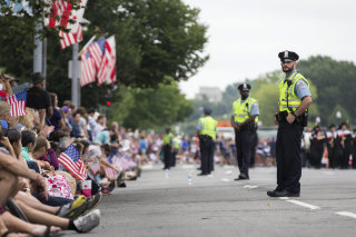 Image: Washington, D.C., security