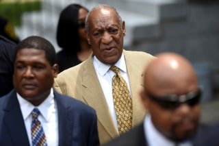 Image: Actor and comedian Bill Cosby arrives for a Habeas Corpus hearing on sexual assault charges at the Montgomery County Courthouse in Norristown, Pennsylvania